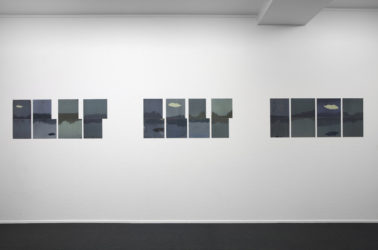 Installation view, Sky Pieces