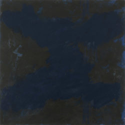 Corner Figure, Blue