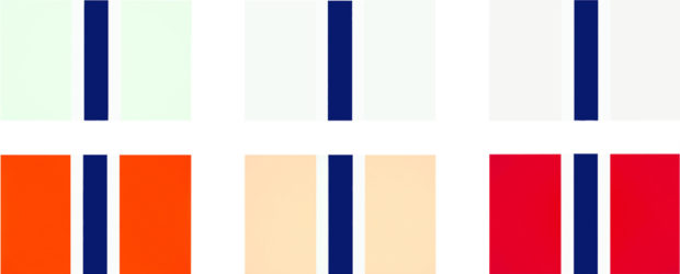 Pale Flags. Blushing Flags