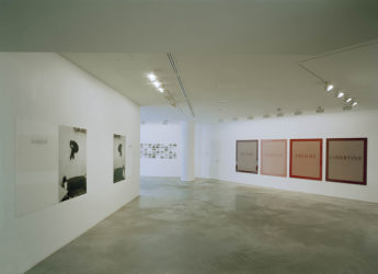 Subject Matter installation view Galerie Anhava Helsinki 01